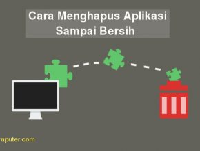cara uninstall program di pc windows tanpa software
